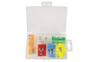 Connect 37156 30 Piece LED Standard Blade Fuse Assorted Box
